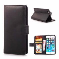 Iphone 6 cover i læder og plads til kort