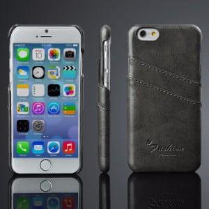 Læder cover til Iphone 6 og 6S i 5 forskellige farver