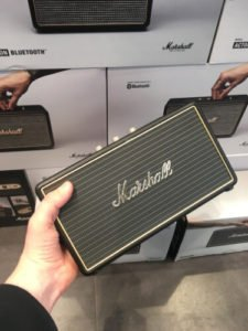 Marshall stock bluetooth højtaler