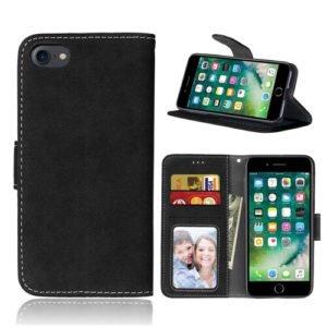 Iphone 8 læder cover med horisontal visning