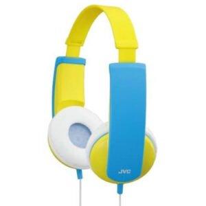 JVC HA KD5-P høretelefon i gul farve
