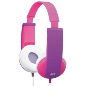 JVC HA KD5-P høretelefon i pink farve