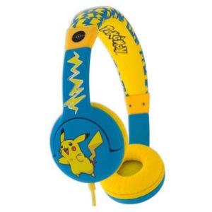Pokémon høretelefon til børn gul farve