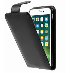 iPhone 8 flipcover i læder