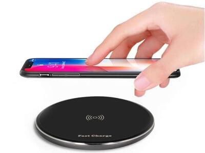 Smart Qi trådløs oplader med quick fast funktion