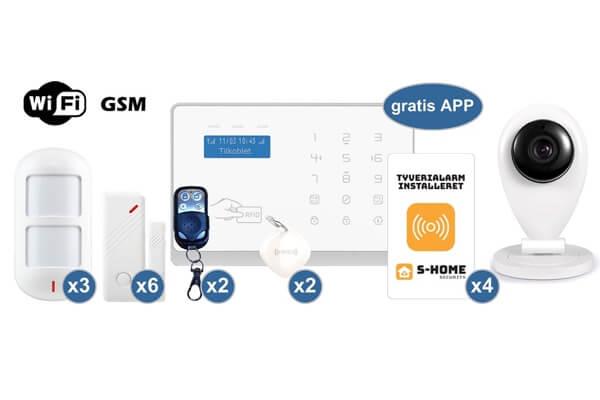 S-Home alarmsystem