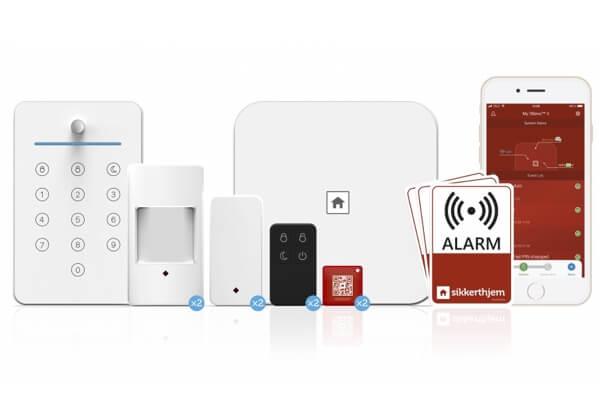 Sikkert hjem alarmsystem