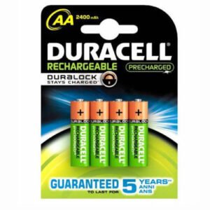 Duracell Rechargeable AA - HR6 2400 mAh