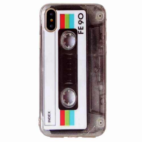Fedt retro TPU iphone Xs cover