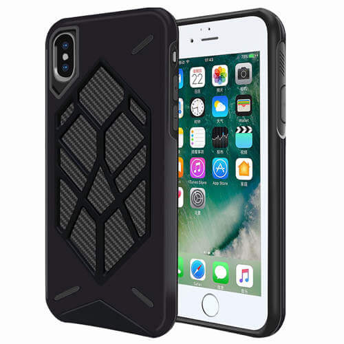 Hybrid hard case cover til iphone Xs