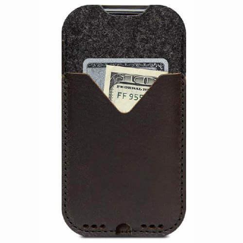 Kirkby iphone Xs cover med ekstra lomme