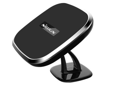NILKIN magnetisk iphone holder med Qi oplader