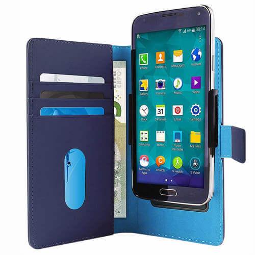Puro slide læder cover med plads til kreditkort