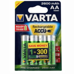 Varta Mignon batterier AA - R06 2600 mAh