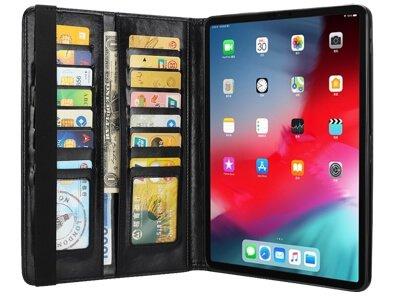 Vidrio flip cover med plads til opbevaring af kreditkort
