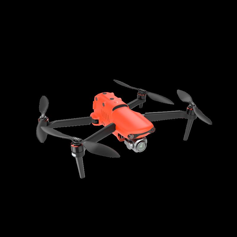 Rød professionel drone