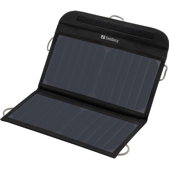 Foldbar solcelle powerbank