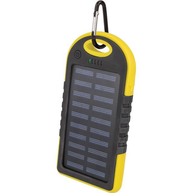 Gul solcelle powerbank