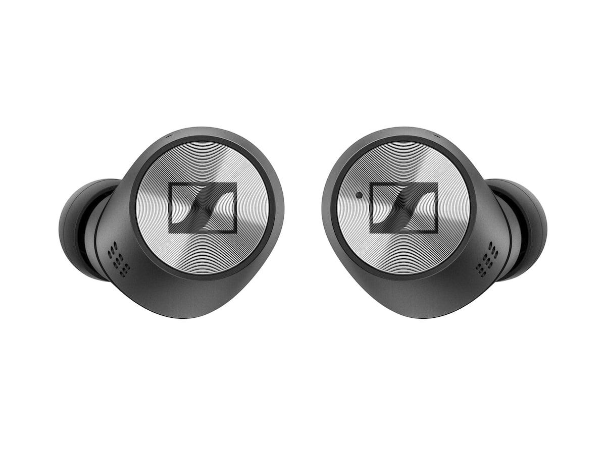 sennheiser earbuds i metalgraa