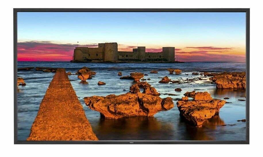 NEC 55 Fladskærms TV MultiSync X551UHD 4K